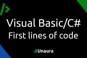 First lines of code in Visual Basic/C#