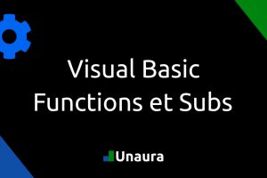 Les Functions et les Subs en Visual Basic