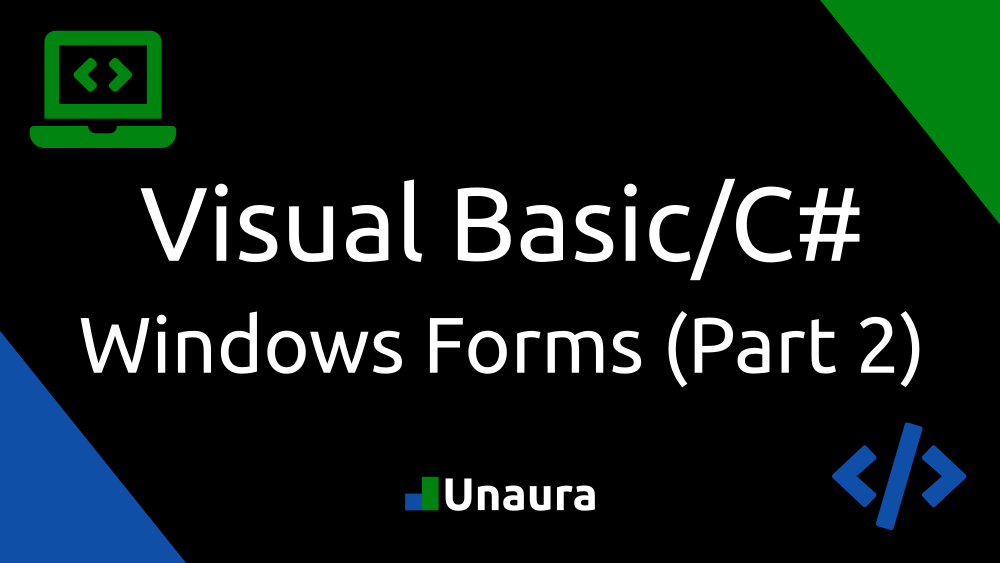 Windows Forms Part 2