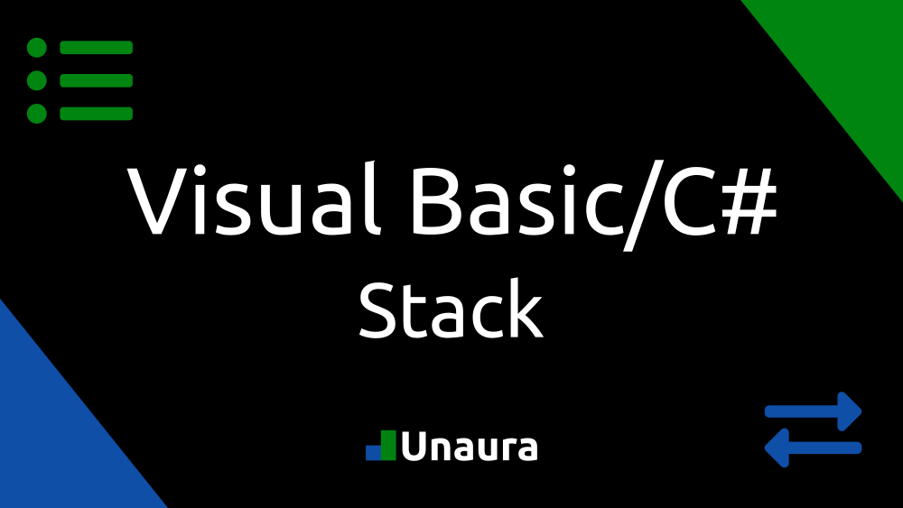 Stack Generic Visual Basic CSharp