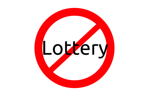 No to lottery