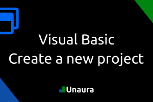Visual Basic – Creating a new project in Visual Studio