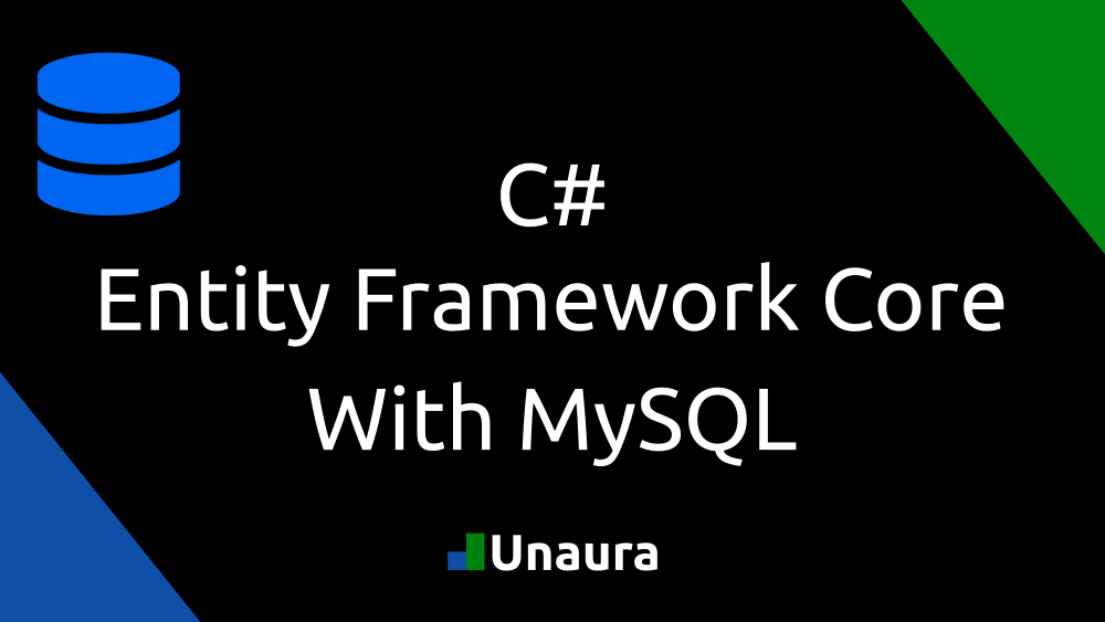 Entity Framework Core with MySQL