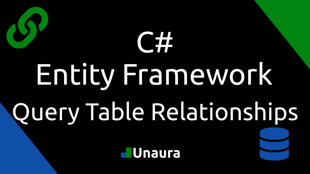 Entity Framework Table Relationships.