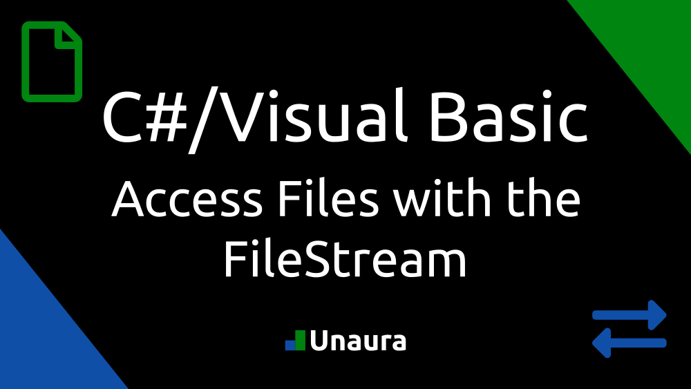 Access files using the FileStream.